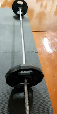 New Barbell and 25lb plates