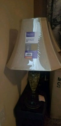 white and brown table lamp Orange Park, 32065