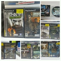 Ps 2 games Henderson, 89002