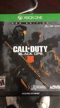 xbox one call of duty bo4 La Porte, 77571