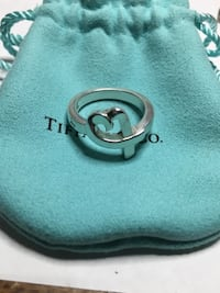 Tiffany & Co Paloma Picasso Living Heart Ring 6.25 Springwater, L0L 1X0