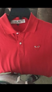 Red play polo shirt Gurnee, 60031