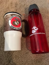 Marine Corps mug and bottle Springfield, 22151