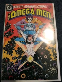 Autograph and authenticated comic book Los Angeles, 90043