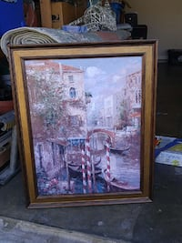 venice canal painting Cibolo, 78108