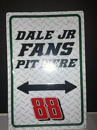 Dale Jr 16x12 Garage Tin Sign Leesburg, 34788