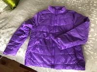 Purple zip-up bubble jacket Calgary, T2K 4G7