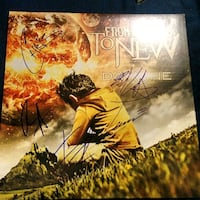 From Ashes To New autographed Day One vinyls Edmonton, T5J