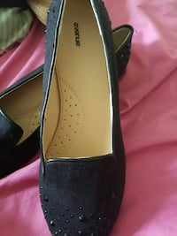 pair of women's black and brown flats Ontario, K1L 6X1