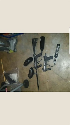 Tippmann paintball guns