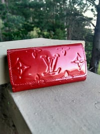Authentic Louis Vuitton 4 Key holder Red