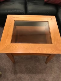 Rectangular brown wooden coffee table Clarksburg, 20871
