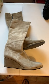 Italian suede boots designer Hobbs size 38 Gatineau, J8T 5N7