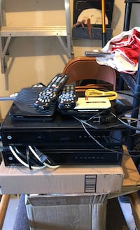 2 Rogers PVR'S with a modem and remotes