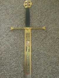 Authentic Spanish gold plated handle sword Kansas City, 64128