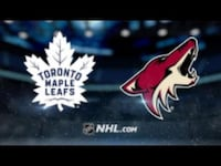 Maple Leafs vs Arizona Coyotes (AISLE SEATS) Vaughan, L4J 8L3