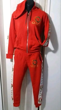red and white Nike track pants Hallandale, 33009
