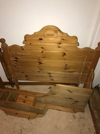 One single size bed  Vossestrand, 5713