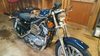 blue and black cruiser motorcycle Harpers Ferry, 25425