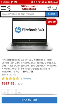 black and gray HP laptop Lewisville, 75067
