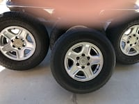 2002 Toyota 4 Runner wheels 2329 mi