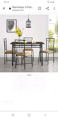 Mainstay table and chairs