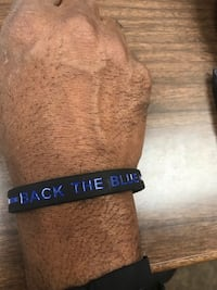 """Back The Blue 8"""" silicone $4,leave a message  [TL_HIDDEN]"""