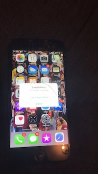 iphone 7   works just cracked if u fint agree the price we can eork it out  Norcross, 30071