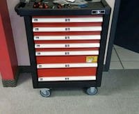 Toolbox with tools. Showroom display model Pickering, L1W 3W9