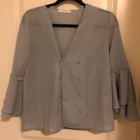gray button-up blazer 列治文, V6X