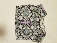 white and purple floral print textile Calgary, T3M 1Z4