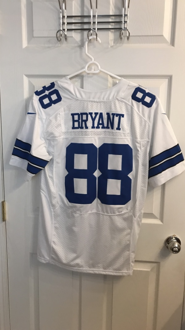 Used Nike Elite Size 44 Dez Bryant Dallas Cowboys Jersey For