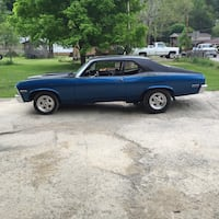 blue and black coupe Elkins, 26241