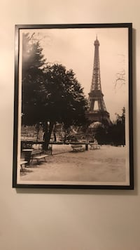 Used Ikea Ribba Framed Eiffel Tower Photo For Sale In Chicago Letgo