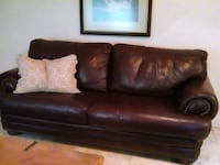 burgandy leather couch from walker furniture perfe