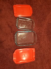 Pyrex pans with lid