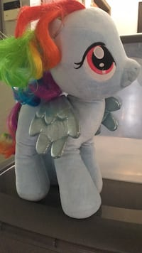 Rainbow Dash My Little Pony Build-a-Pony Hamilton
