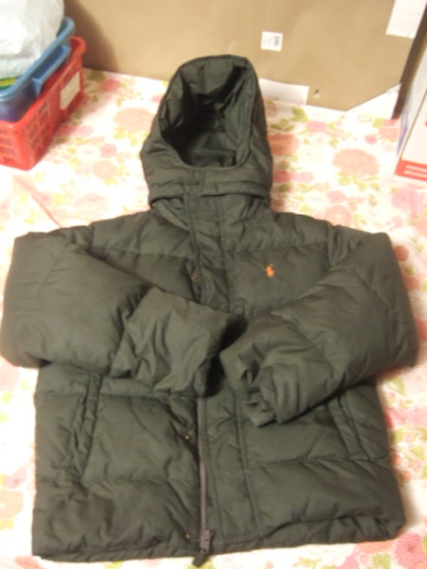 different polo 12/14  youth winter jacket,0764