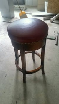 Barstool wooden nice sturdy