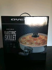 Ovente Electric Skillet with Non-Stick Body.