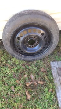 5 lug spare tire with new tire