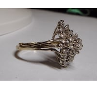 ESTATE DIAMOND SNOWFLAKE RING Aldie, 20105