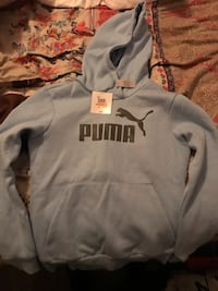 puma hoodie for women S size blue color Eastvale, 92880