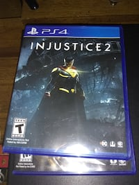 Injustice 2 game PS4 null