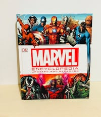 Marvel Encyclopedia The Definitive Guide Updated And Expanded DK 2014