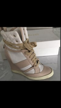 Chloe wedge running shoes size 7