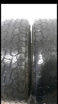2 Tires P225/70R17 lots tread  Herndon