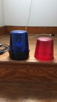 Police beacon Party light.  w/ Red & Blue lens Westmont, 15905