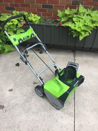 "Greenworks 20"" Snow Thrower Welland, L3C 1G1"