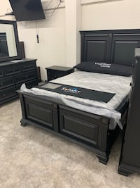 King Queen Full Twin Complete Bedroom Sets. $10 down. Same day delivery  Indianapolis, 46254